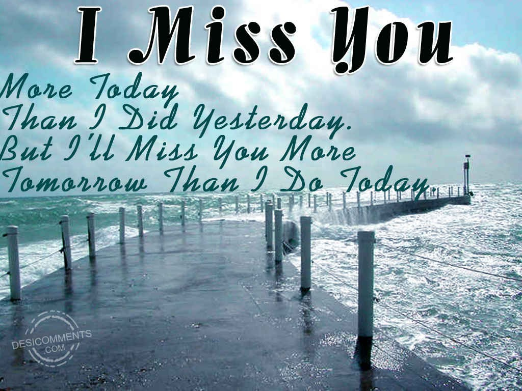 Miss You Always - DesiComments.com