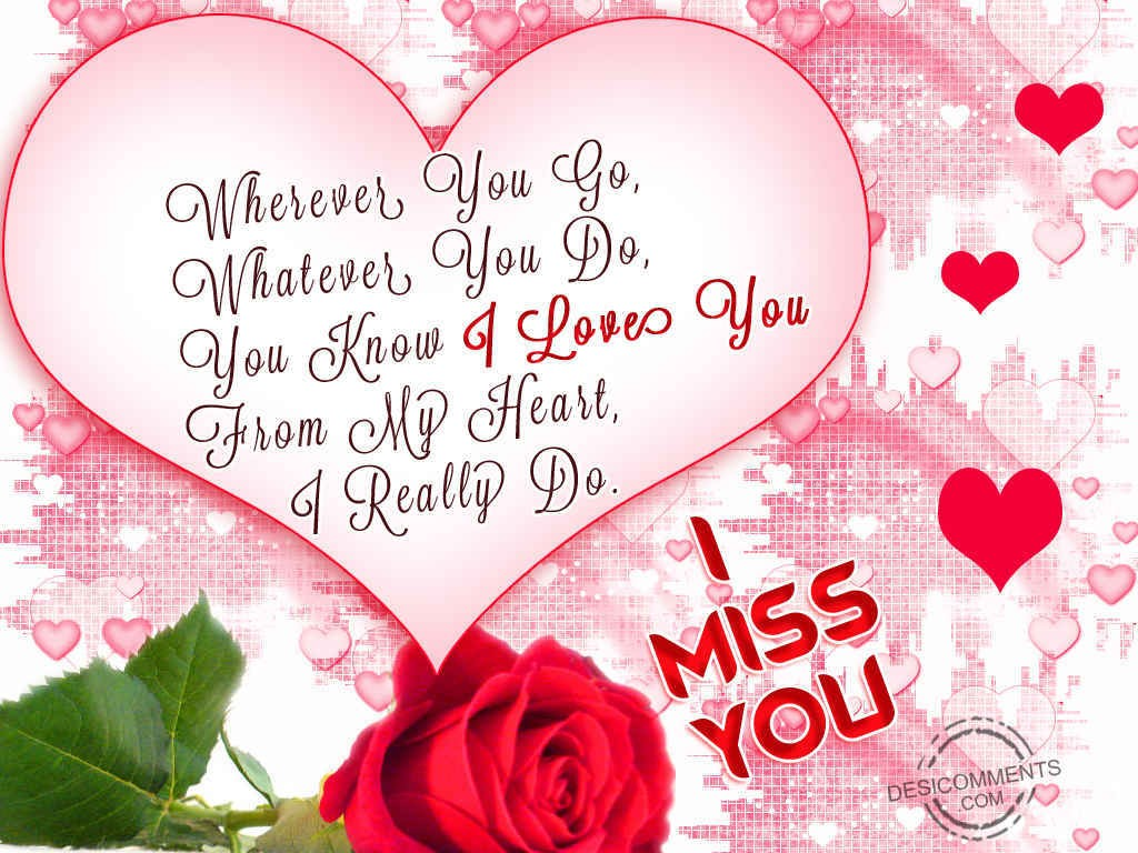 I love you for U and me pictures
