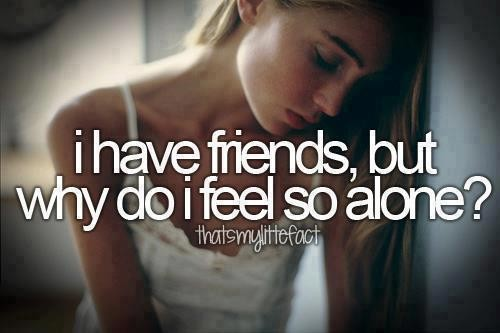 I Feel So Alone