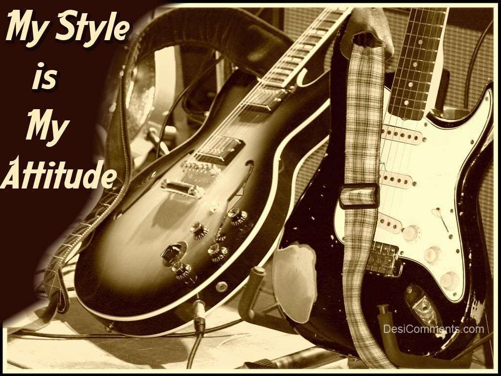 Attitude Is My Style Wallpaper For Boys My Style
