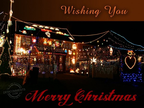 Wishing You Merry Christmas...