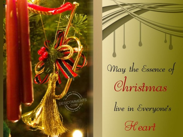 May The Essence of Christmas live in everyone's Heart...