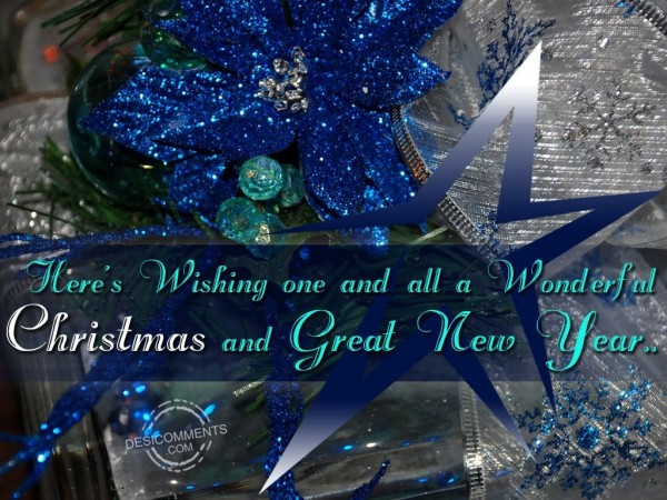 Have A Wonderful Christmas...