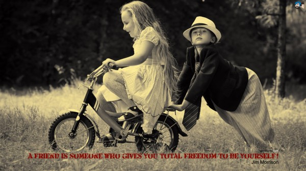A Friend Is Someone....