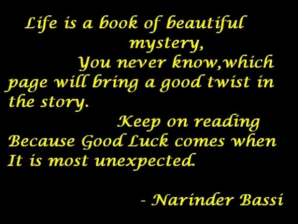 Life Is a Book ....