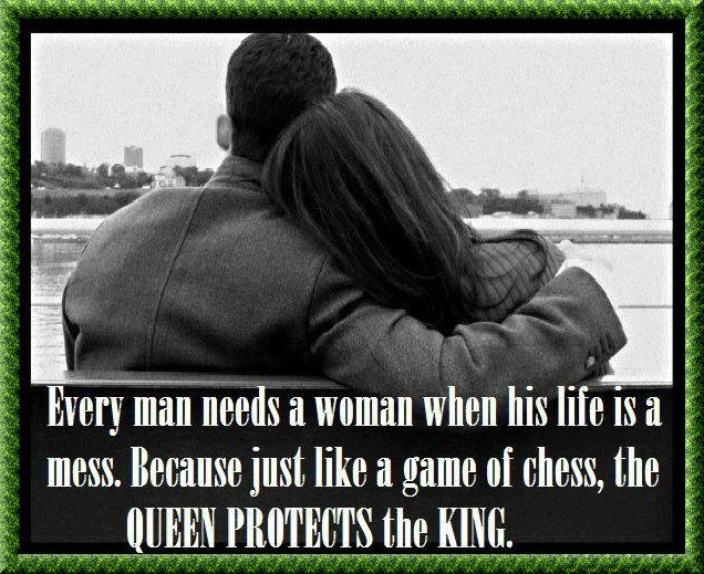 King And Queen Love Quotes Endearing Queen Protects The King  Desicomments