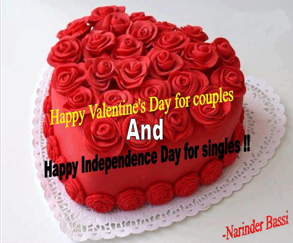 Valentine's Day and Independence Day