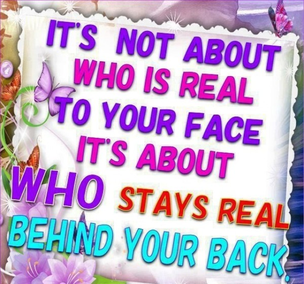 Who Is Real