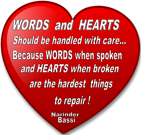 Words and Hearts