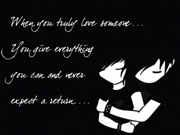 When You Love Truly Someone