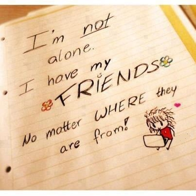 I Am Not Alone....