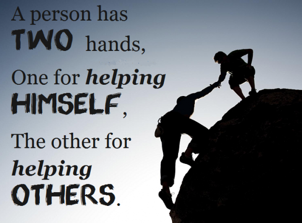 Two Hands To Help