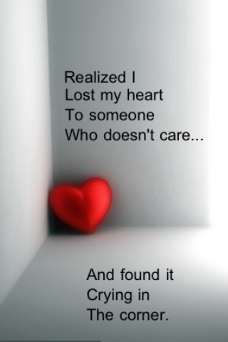 Realized I Lost My Heart