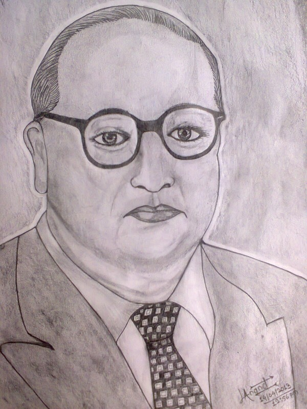 Sketch Of Dr. Ambedkar