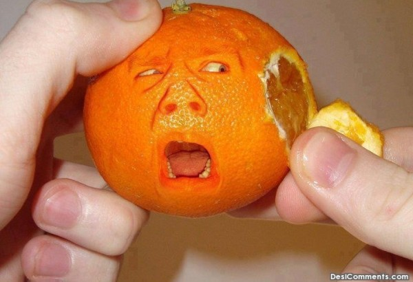 Crying Orange