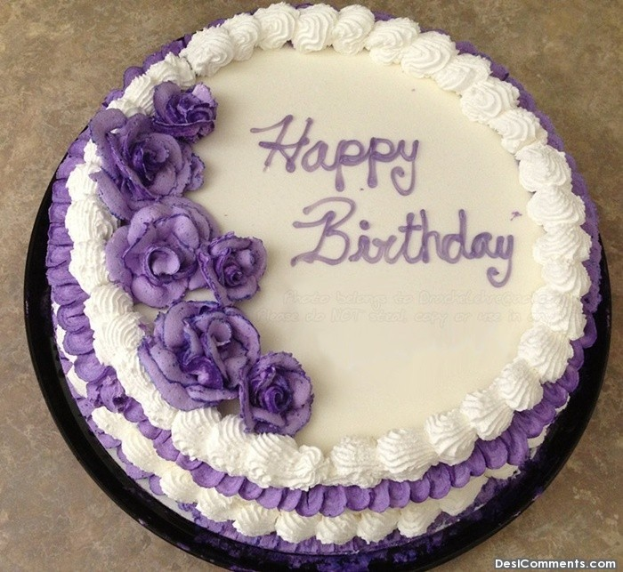 Birthday Cake Pic With Name Mahi : Related Keywords & Suggestions for happy birthday purple cake