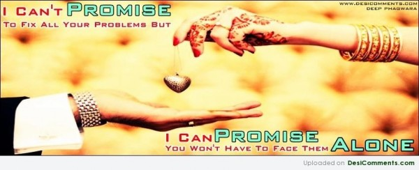 I Can Promise