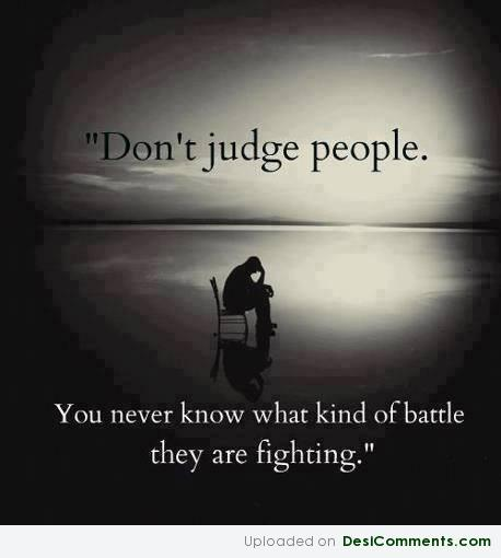 Don't Judge The People