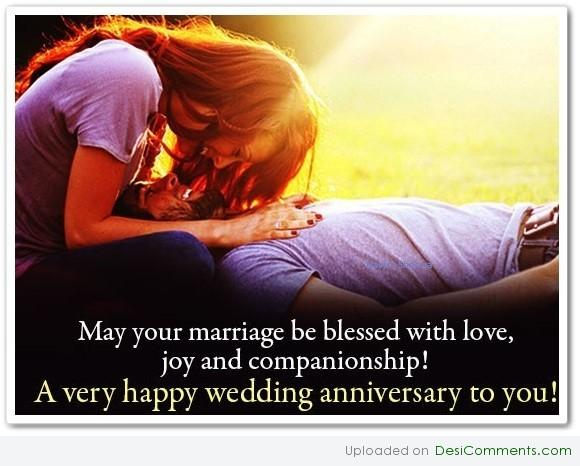 Happy Wedding Anniversary To You