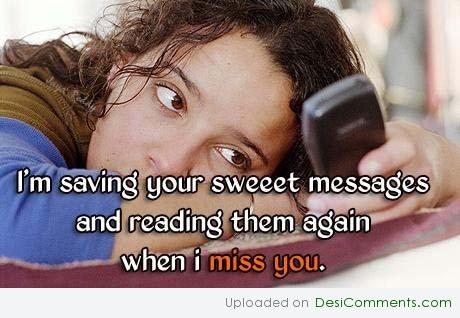 When i miss you