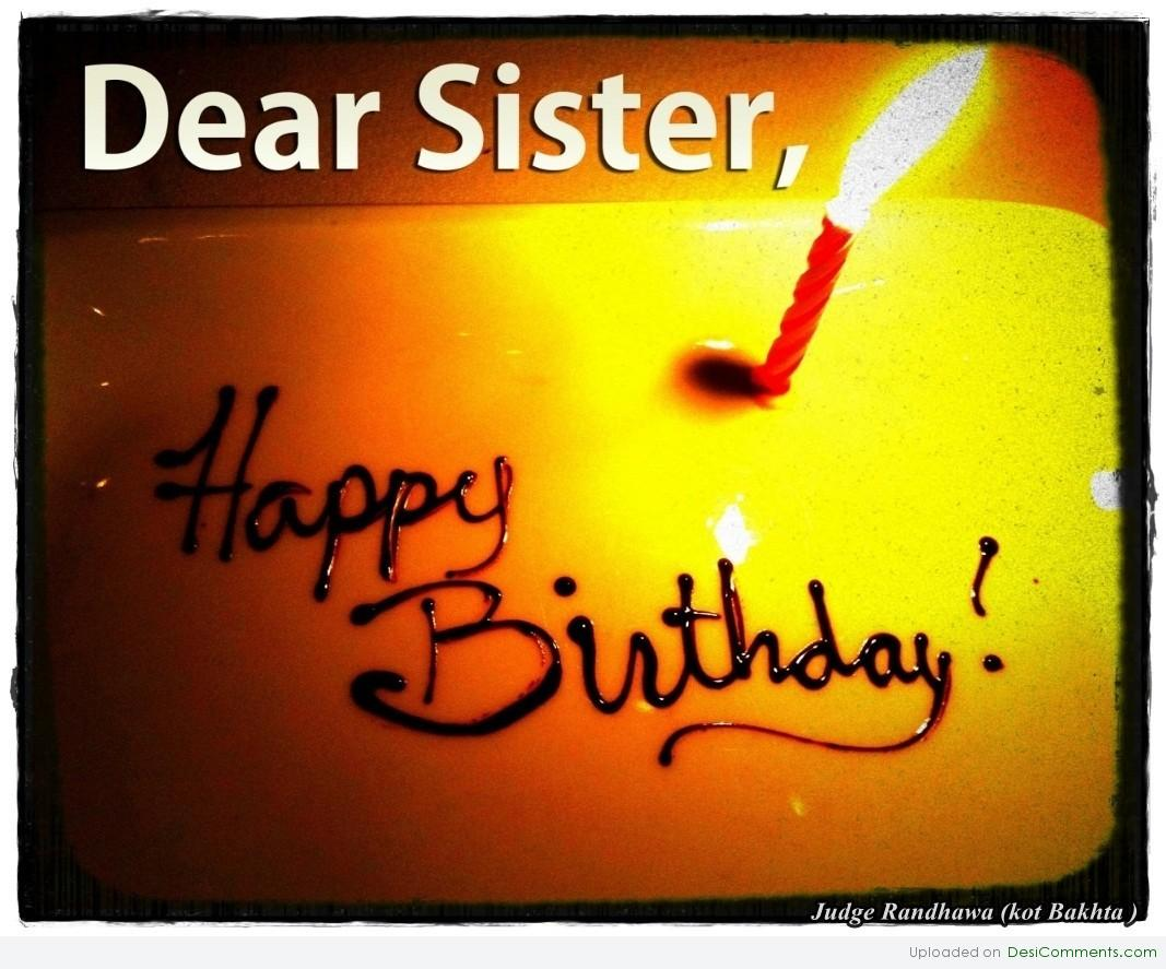 Happy Birthday To Sister Happy Birthday Quotes For Sister For Facebook