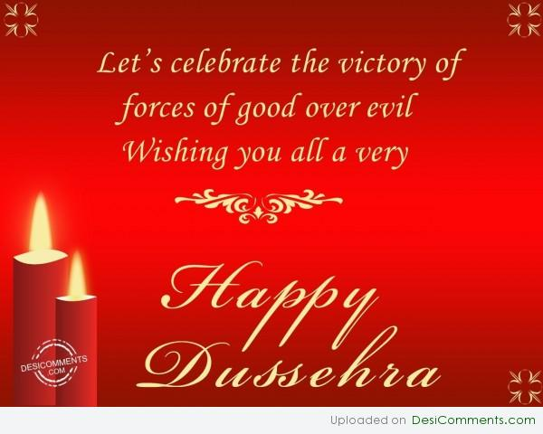 Wishing You All A Very Happy Dussehra