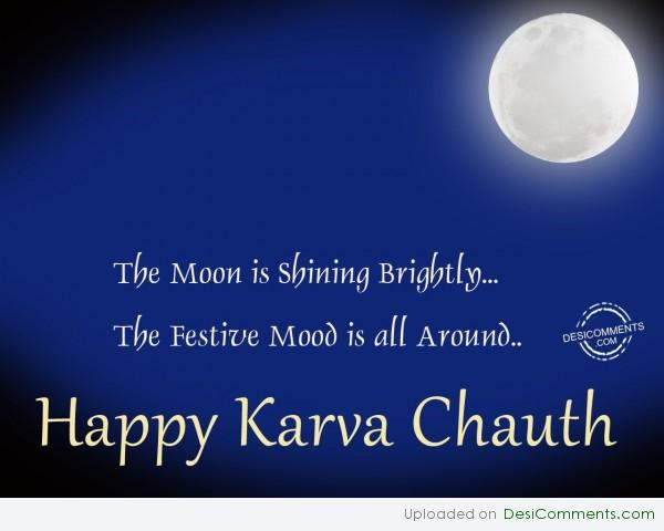 Wishing You A Very Happy Karva Chauth