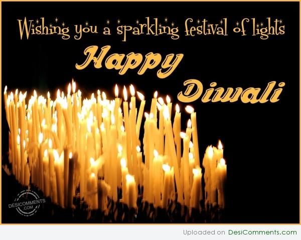 Wishing You a Sparkling Festival Of Lights