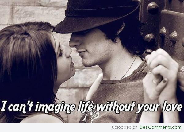 I can't imagine