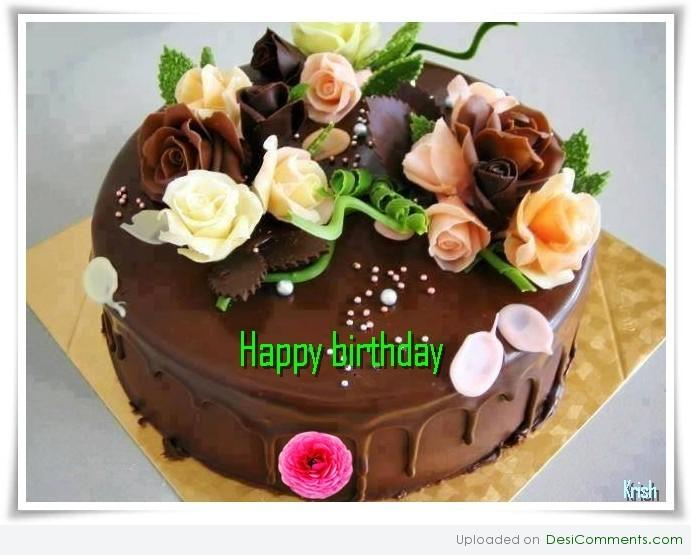 Happy Birthday Simran Cake Pic