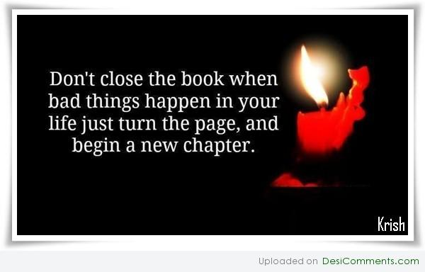 Just turn the page