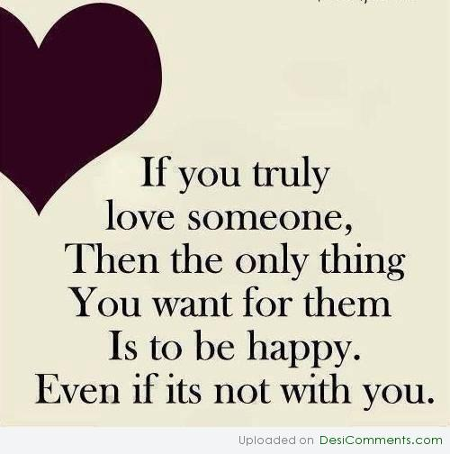 If you truly love