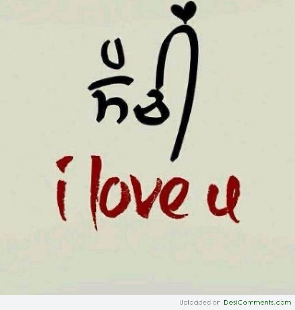 how to say i love you in punjabi