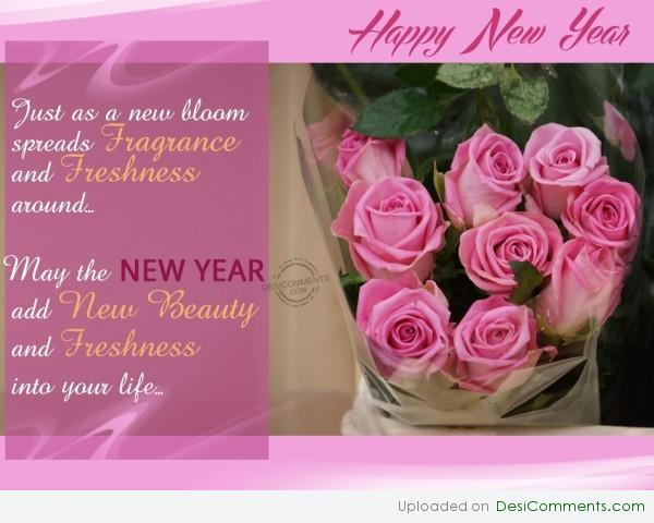 May New Year Add New Beauty Into Everyone's Life...