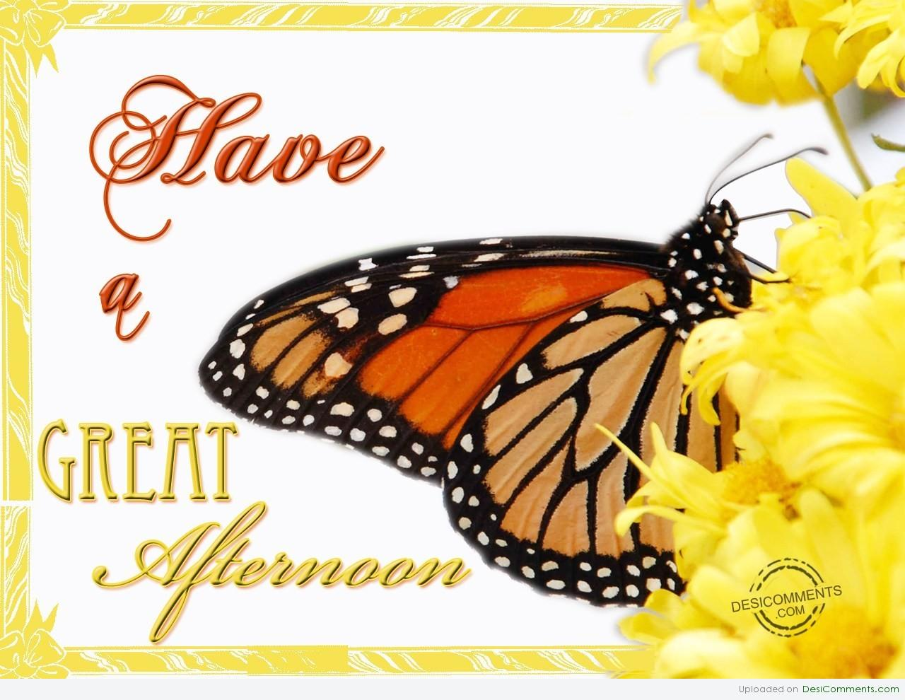 Have A Great Afternoon Desicommentscom
