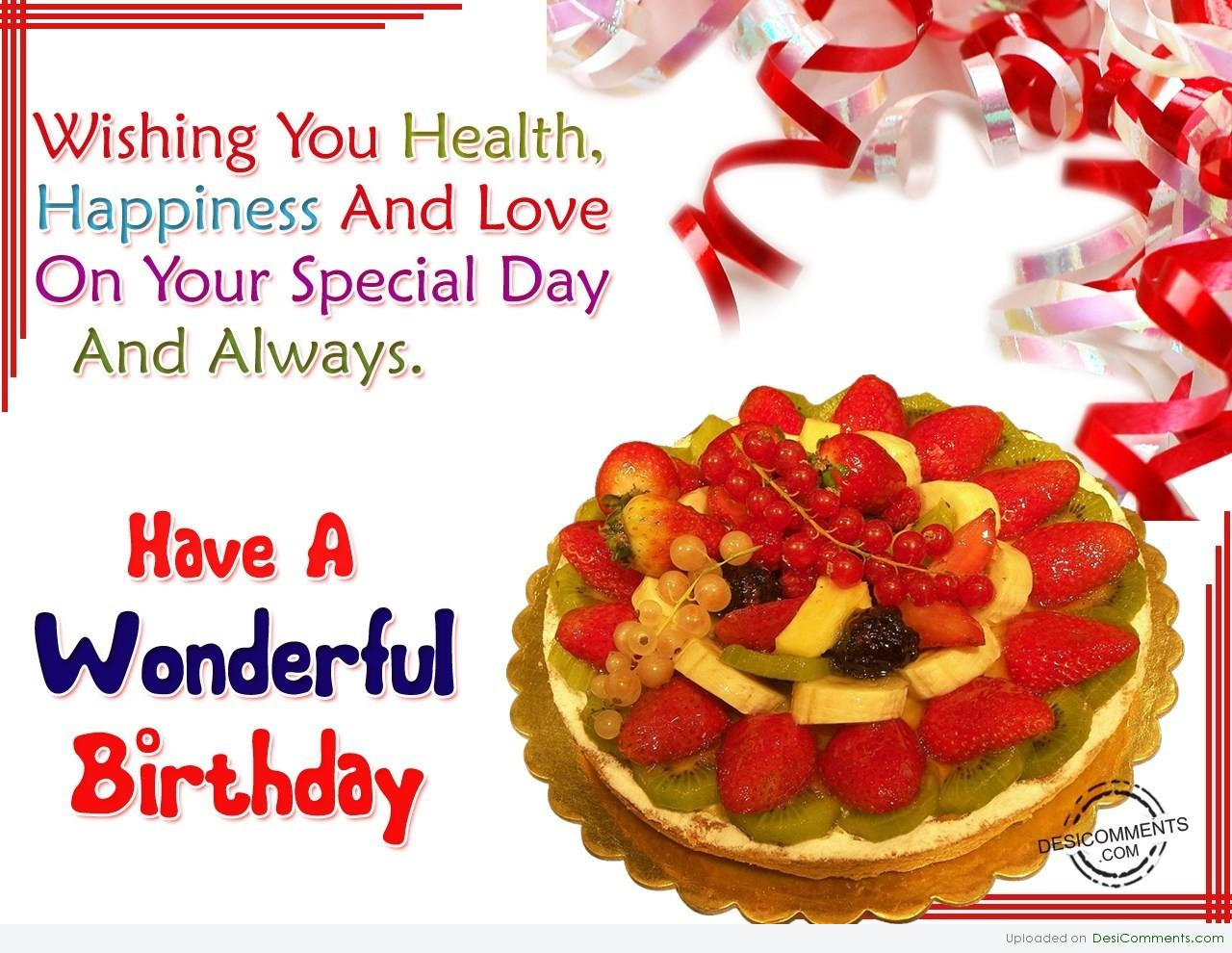 Have A Wonderful Birthday Desicomments Com