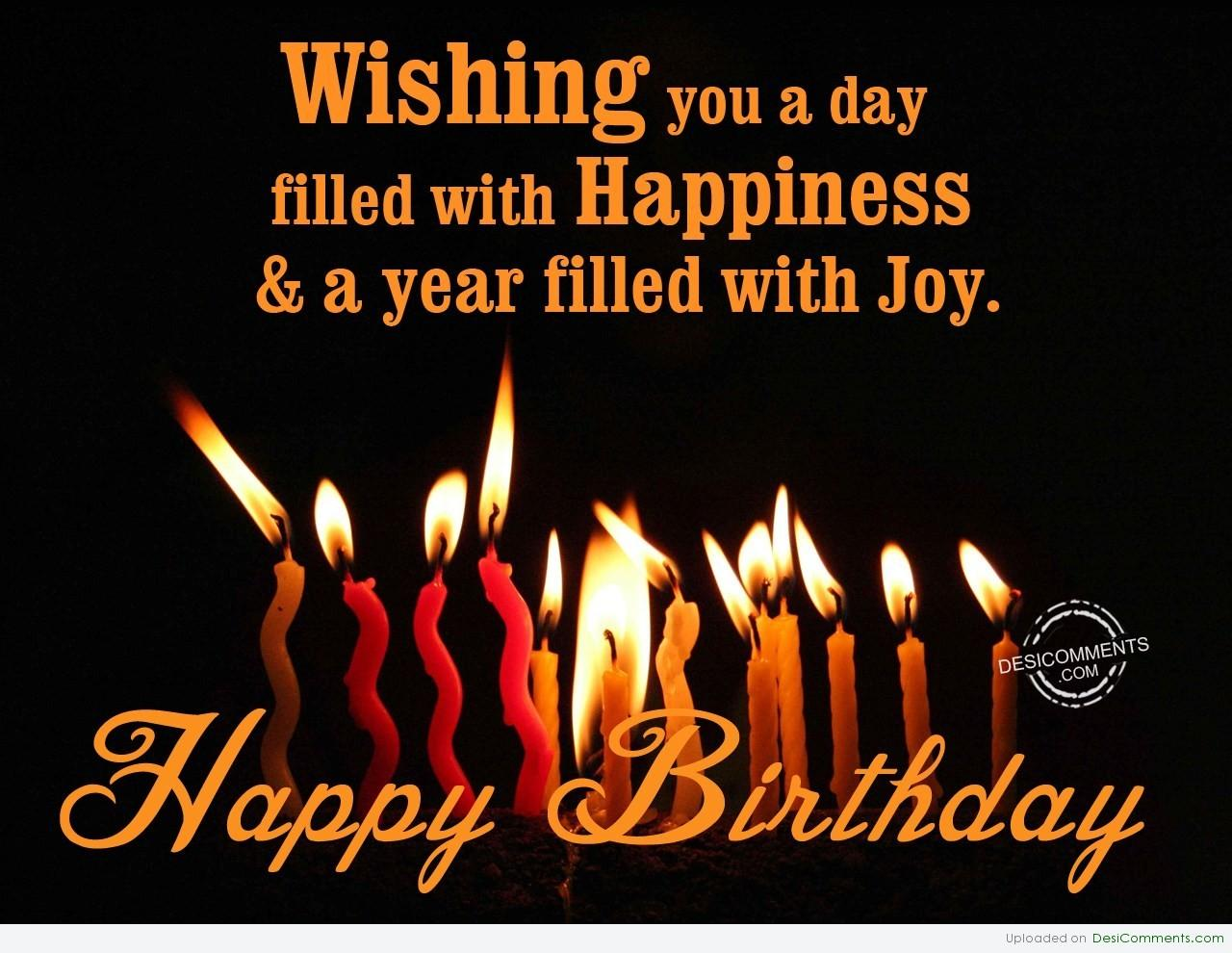Wishing You A Very Happy Birthday Desicomments Com