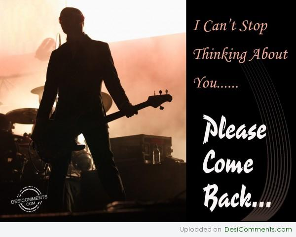 Picture: Please Come Back