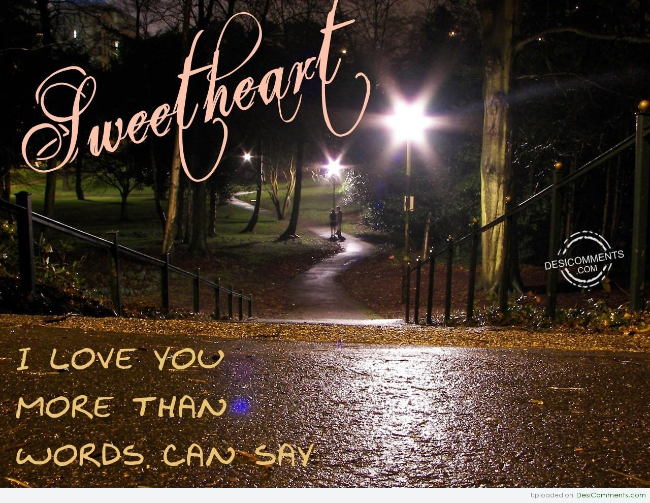 love you more than words can say quotes