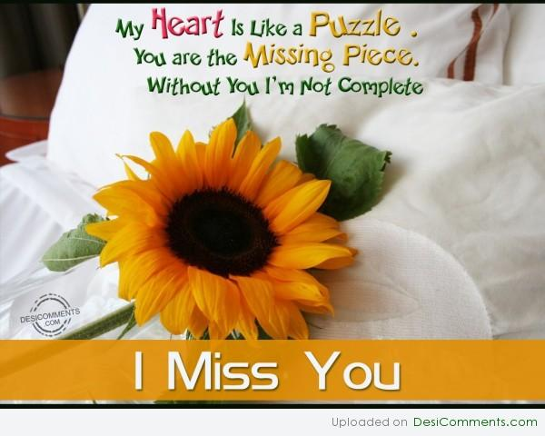 Picture: I Miss You