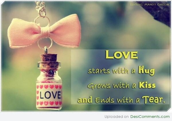 Love starts with....