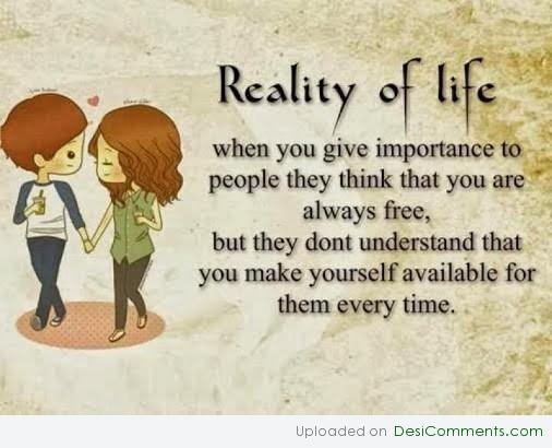 Reality Of Life Desicomments Com