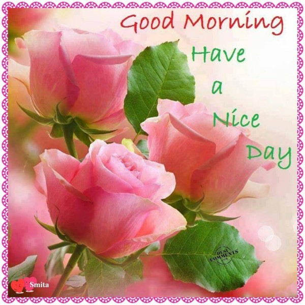 Good Morning - Have A Nice Day!
