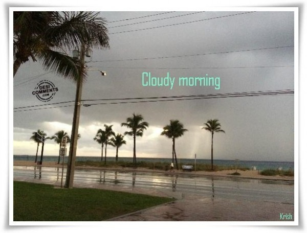 Picture: Cloudy Morning
