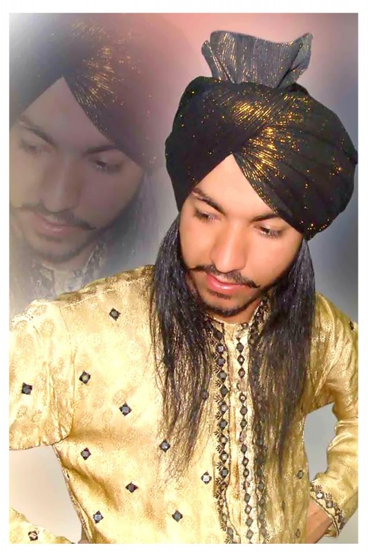 Waris Shah Turban Style By Bhupinder Singh Thind