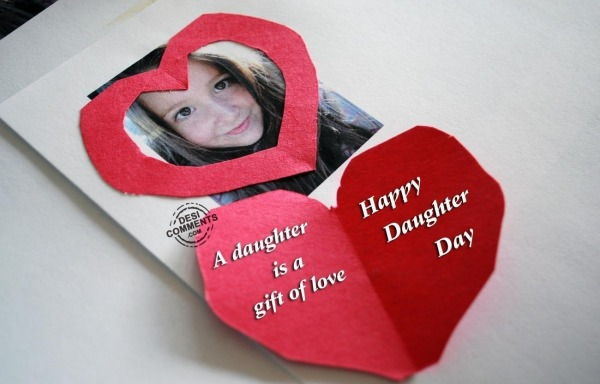 Picture: A daughter is a gift of love