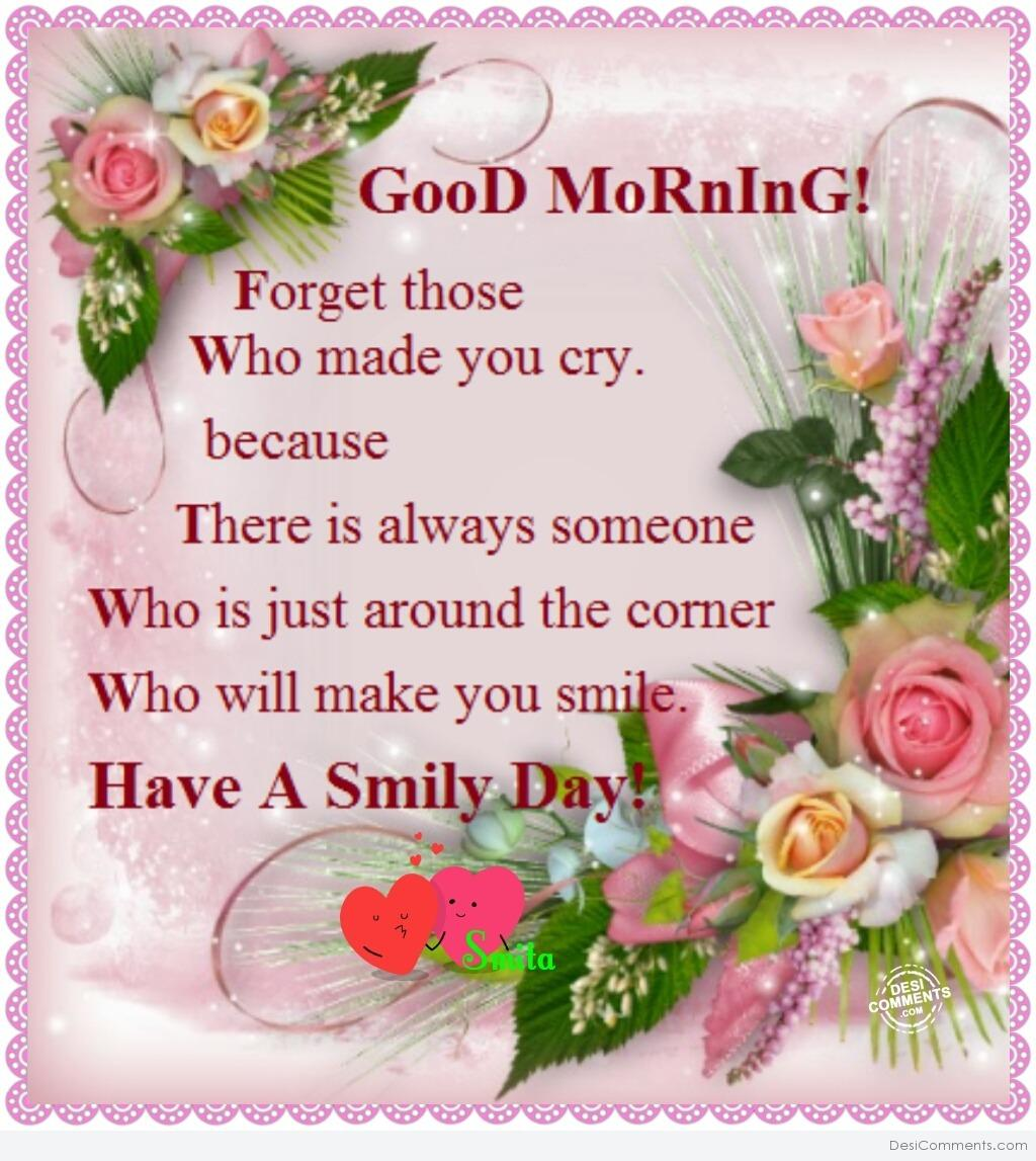 Good Morning Have A Smily Day Desicomments