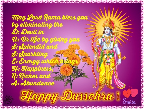 Happy Dussehra!