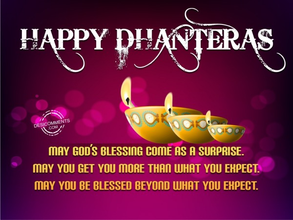 Get You More Than What You Expect – Happy Dhanteras