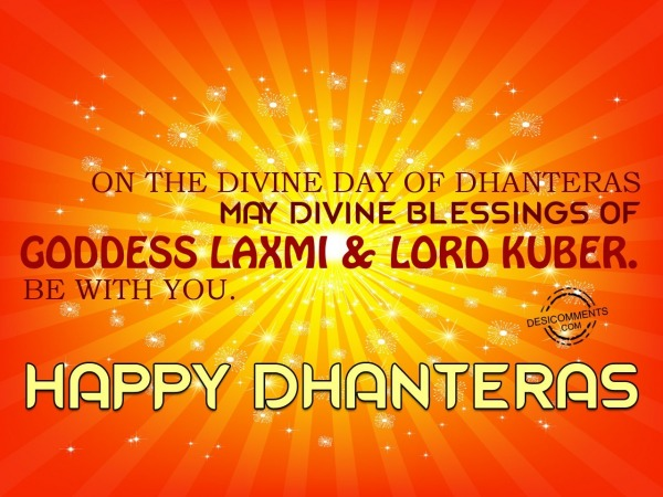 Blessings Of Goddess Laxmi & Lord Kuber Be With You